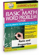 Basic Math Word Problem Tutor: Ratio and Proportion