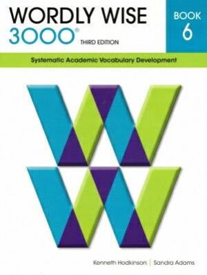 Wordly Wise 3000 Student Book Grade 6 3rd Edition