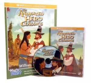 The Animated Story Of William Bradford Video On Interactive DVD