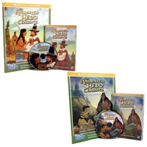 William Bradford and Pocahontas Interactive 2 DVD Package