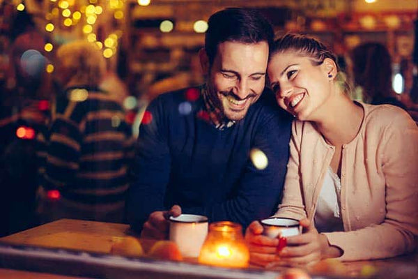 couple enjoying date-night