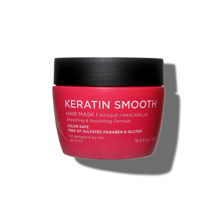 Keratin Smooth Hair Mask - Luseta Beauty