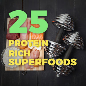 25 HIGH-PROTEIN FOODS TO AMP UP YOUR PERFORMANCE