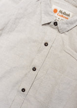 MOLLUSK MENS NATURAL ONE POCKET SHIRT