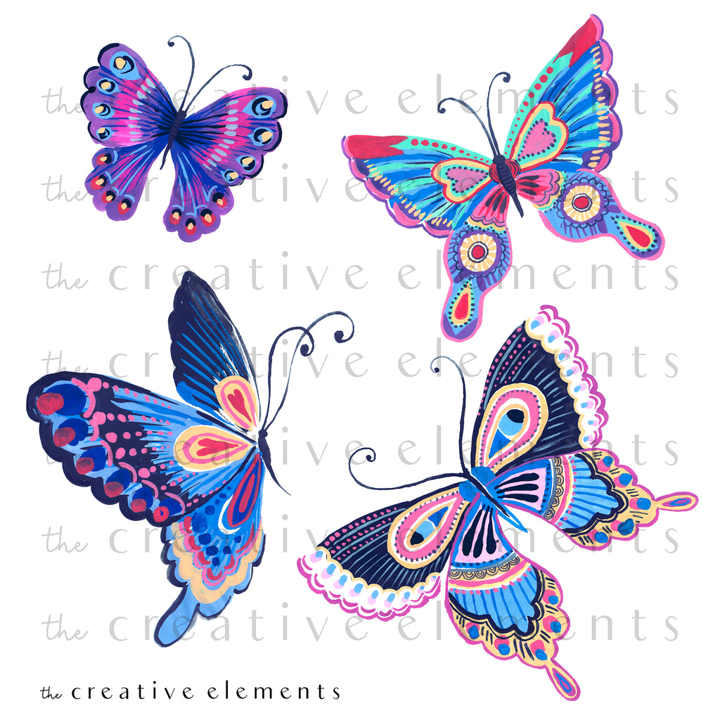 Fun Butterflies