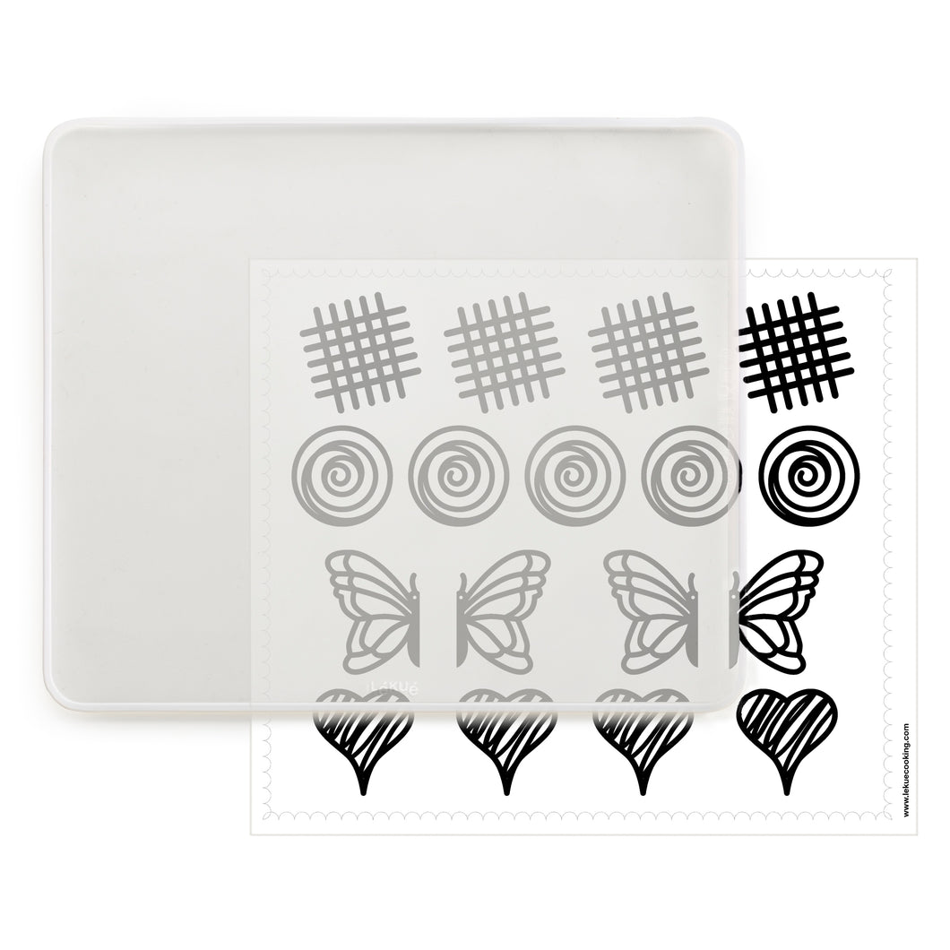 DecoMat Chocolate Decorating Kit