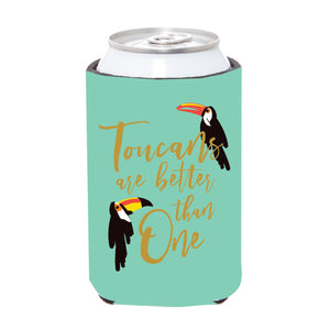 Toucans Are Better Tan One Can Cover