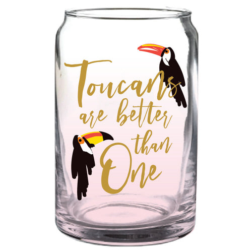 Toucans Are Better Than One Beer Can