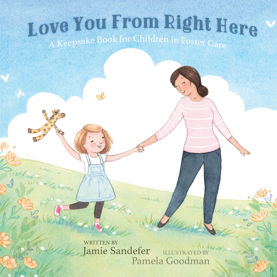 Love You From Right Here (Paperback) by Jamie Sandefer - 10 Book Bundle