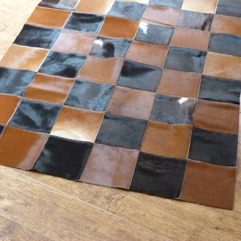 Patchwork Cowhide Rug PATCH150