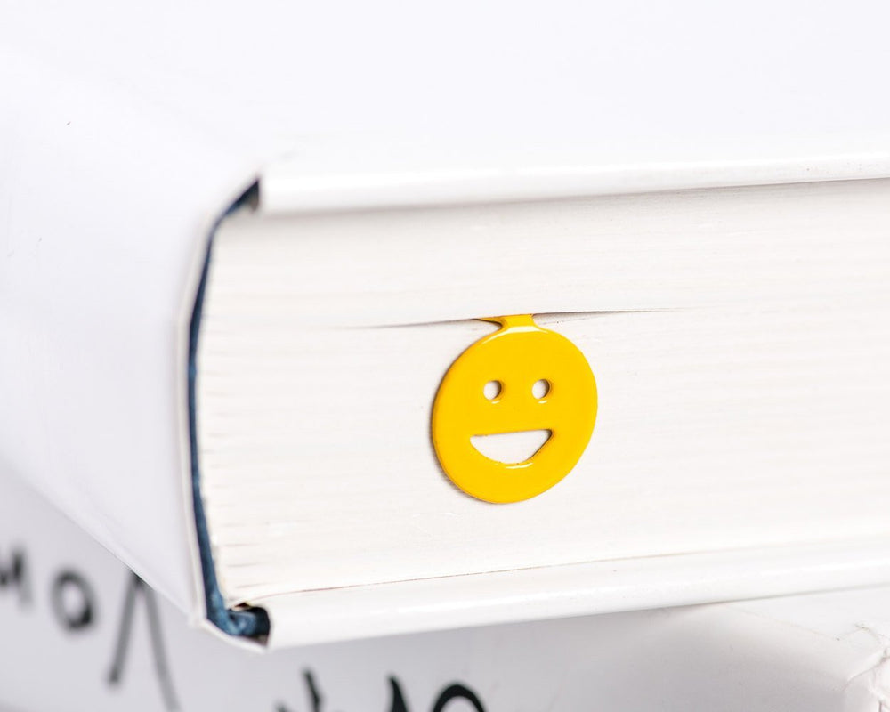 Metal Book Bookmark Emoticon Smiley Smile by Atelier Article - Design Atelier Article