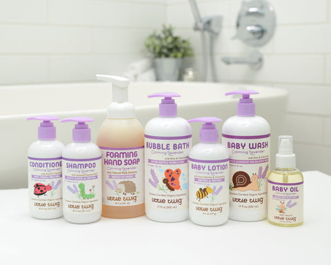 Natural Lavender Baby Products