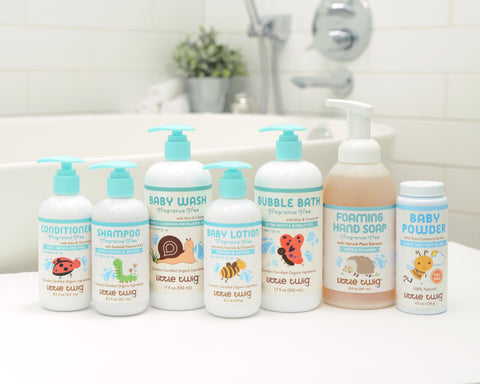 Fragrance Free Natural Baby Products