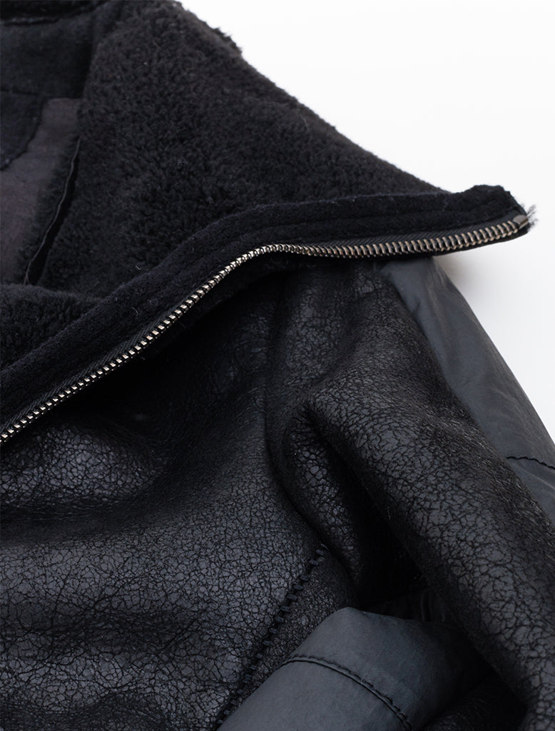LAMBSKIN SHEARLING JACKET