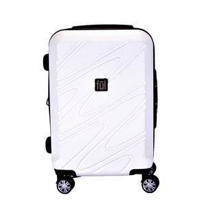 Scribble 21 Inch Expandable Spinner Rolling Luggage Suitcase