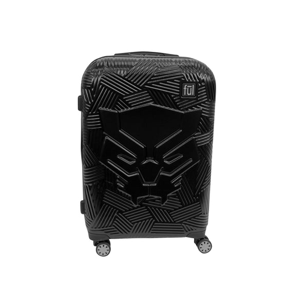 FŪL Marvel Black Panther Icon Molded Hard Sided 21in Rolling Luggage