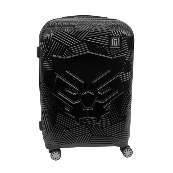 FŪL Marvel Black Panther Icon Molded Hard Sided 29in Rolling Luggage