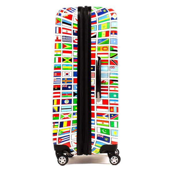 Flags 28in Spinner Rolling Luggage Suitcase