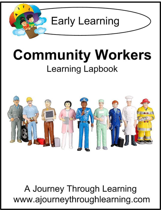 Community Workers Lapbook - A Journey Through Learning Lapbooks