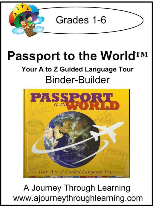 New Leaf Press-Passport to the World Binder-Builder - A Journey Through Learning Lapbooks