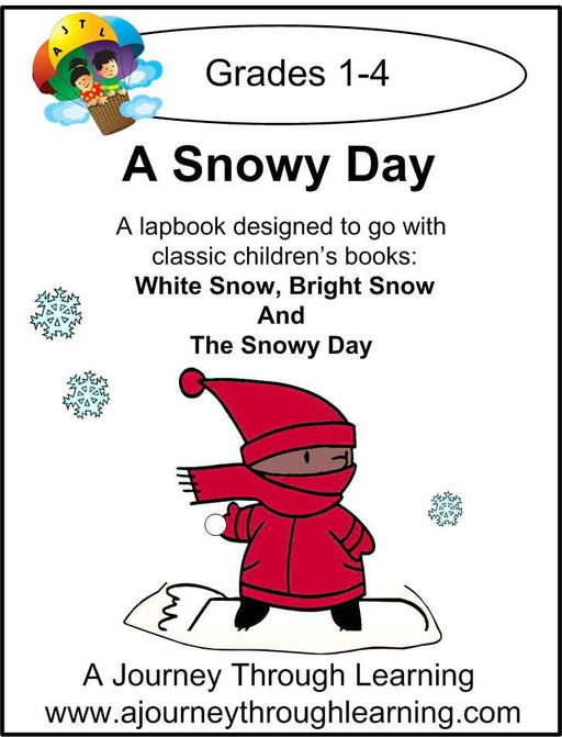 Snowy Day Lapbook - A Journey Through Learning Lapbooks