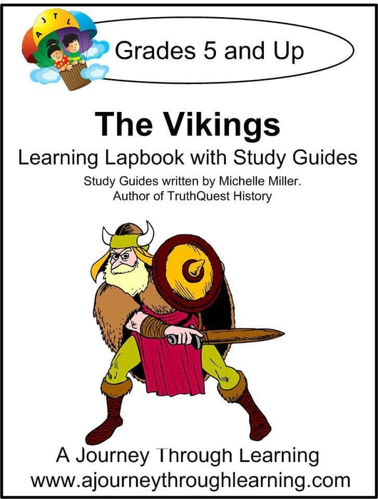 Vikings Lapbook with Study Guide - A Journey Through Learning Lapbooks