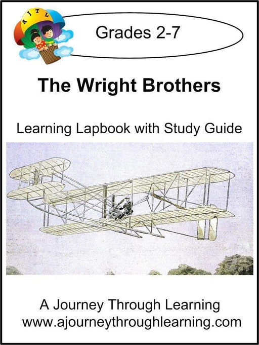 Wright Brothers Lapbook with Study Guide - A Journey Through Learning Lapbooks