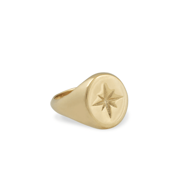 Zeus Star Ring - Gold