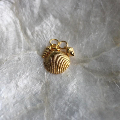 California Shells Layering Necklace - Gold