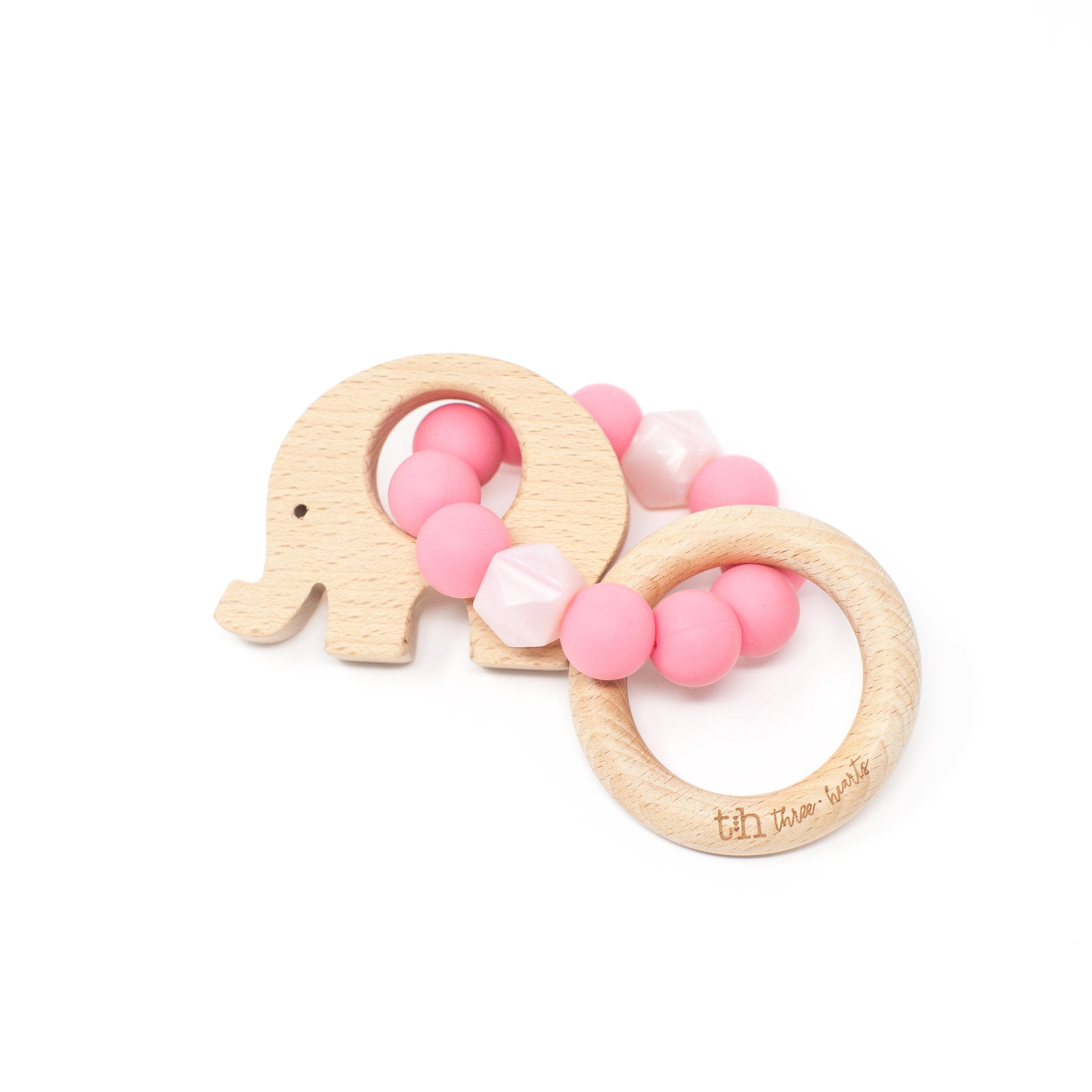 Elephant Rattle - Food Grade Silicone