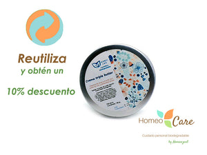 CREMA TRIPLE BUTTER ZERO WASTE ¡¡RELLENABLE!!