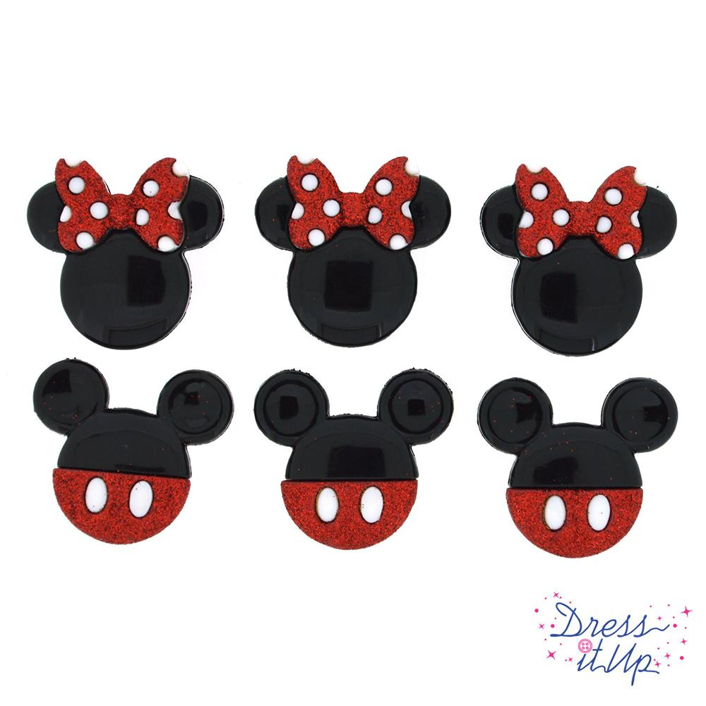 MICKEY AND MINNIE GLITTER
