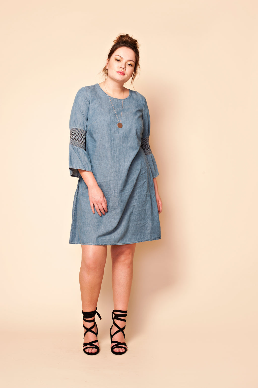 Robe Chambray effet denim