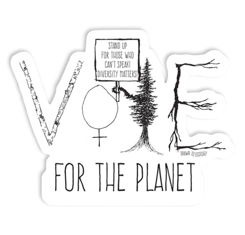 VOTE for the Planet Sticker