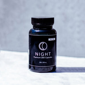 Jane West CBD Capsules - NIGHT | 10MG With Tryptophan