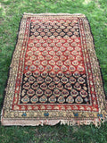 "3'11"" x 6'3"" Antique Oriental Rug - 1870's"