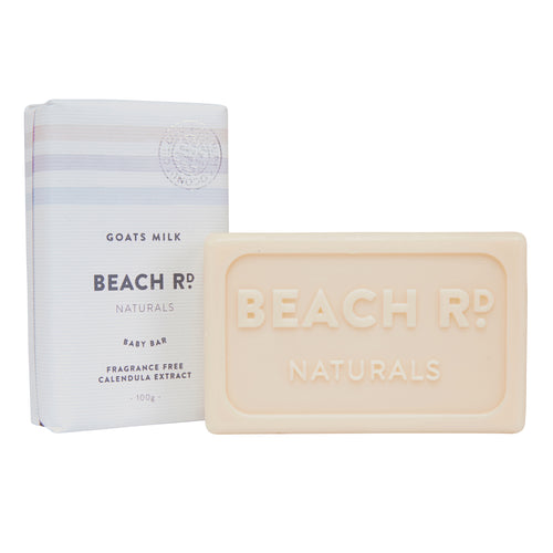 Goats milk baby soap bar by Beach Rd Naturals