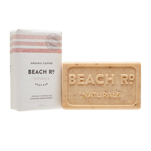 Beach Rd coffee soap bar