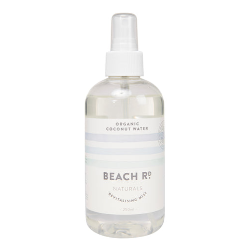 Organic Coconut Water Revitalising Mist in a spray bottle