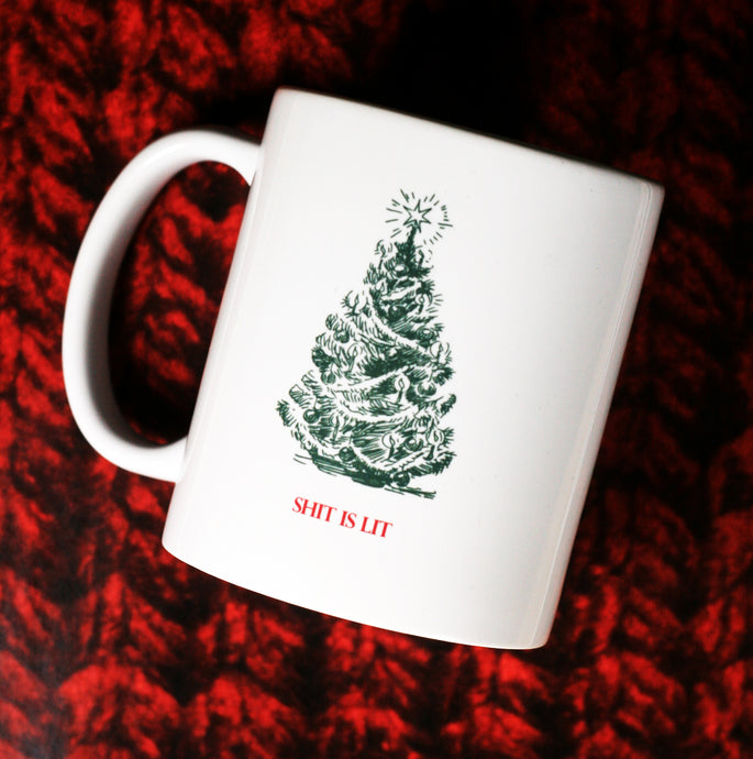 Warm Winter Wishes From What The Mug | Custom Mug Shop Holiday Hours