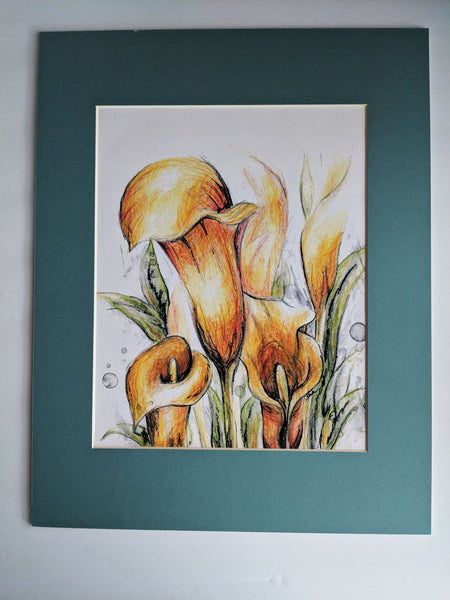 Calla Lily Lane Wall Art