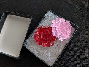 Cabochon Resin Rose - 1""