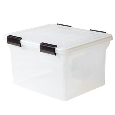 Weathertight File Box 32qt