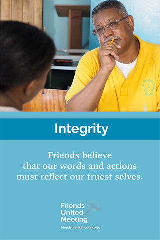 Friends Testimonies Poster: Integrity