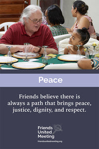 Friends Testimonies Poster: Peace