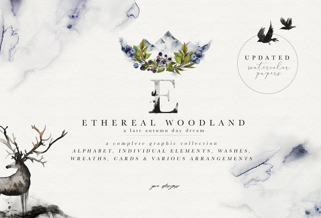 Ethereal Woodland - Graphic Collection