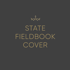 2019 Miss America State Field Book Cover - Pre-Order