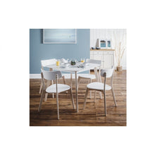 Casa white Dining Chair - Perfectly Home Interiors