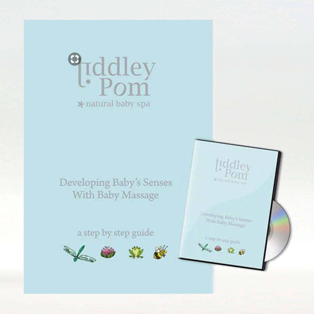 Baby massage and aromatherapy DVD