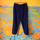 Black Escada Dress Pants. Sold exclusively at Empress Vintage in Berkeley, CA.